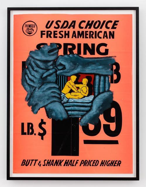 , 'Butt & Shank,' 1985, Hal Bromm