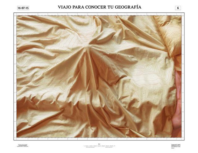 , 'Viajo para conocer tu Geografia,' 2015, NF/ NIEVES FERNANDEZ