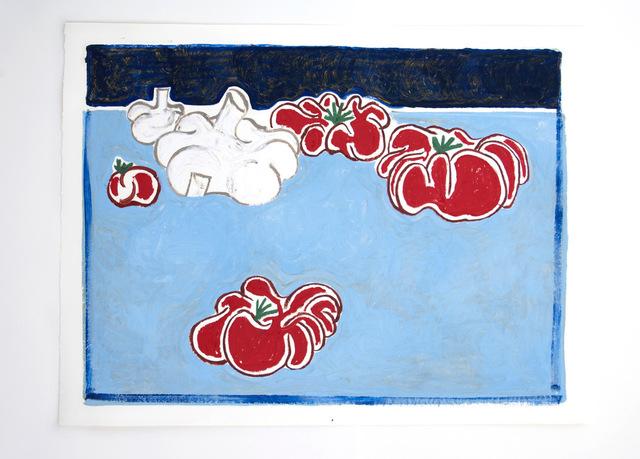 , 'Garlic and tomatoes,' 2018, Schönfeld Gallery