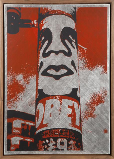 Shepard Fairey, 'Obey Pole', 2001, Julien's Auctions