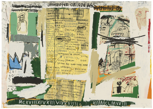 Jean-Michel Basquiat, 'Jawbone of an Ass', 1982-2005, Taglialatella Galleries