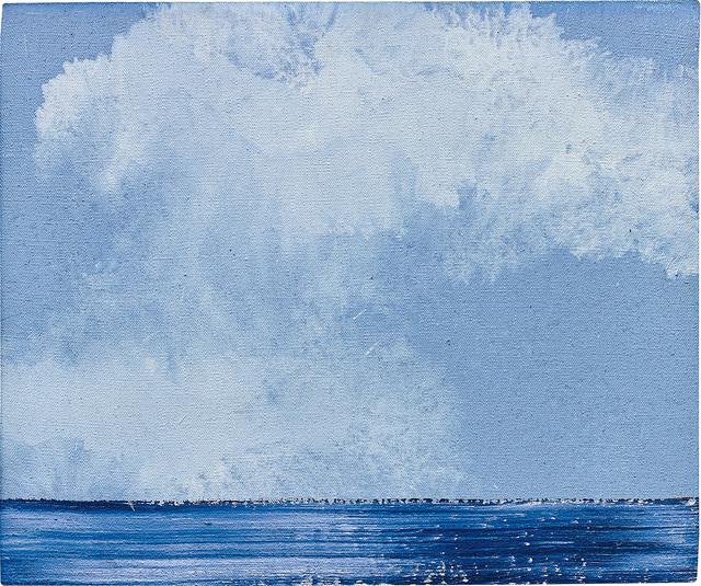 Miquel Barceló, 'La Mer avec Nuages', 2002, Mixed Media, Mixed media on canvas, Phillips
