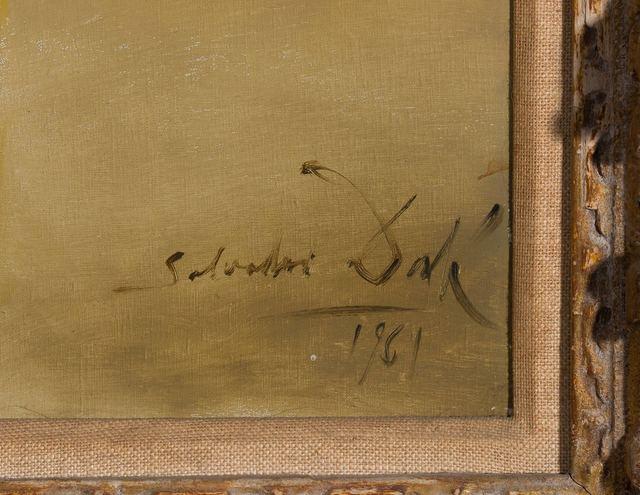 Salvador Dalí, 'Portrait of Ruth Lachman', 1961, Painting, Oil on canvas, Doyle