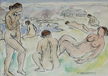 Nudes Bathing