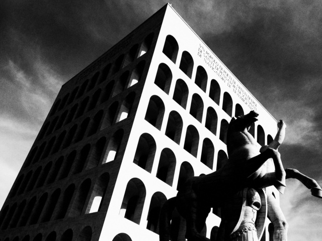 , 'EUR Rome,' 2010, Milk Gallery