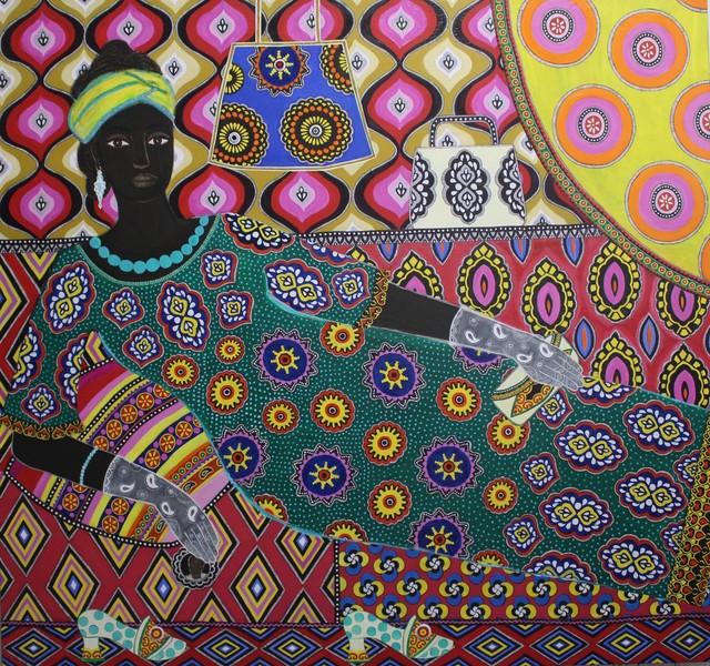 , 'Faizah,' 2017, Rebecca Hossack Art Gallery