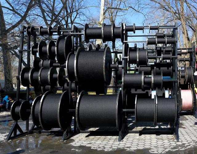 , 'Installation view, Desire Lines (detail 2),' 2015, Public Art Fund