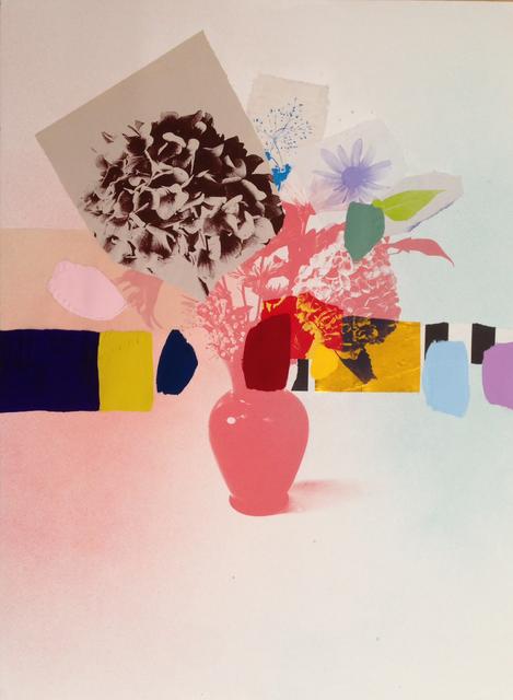 , 'Paper Bouquet (Brown + Coral Hydrangea),' 2017, Newzones