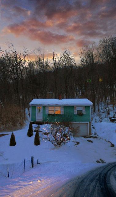 , 'Winter House,' 2017, William Baczek Fine Arts