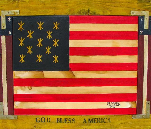 , 'God Bless America,' 2014, Beth Urdang Gallery