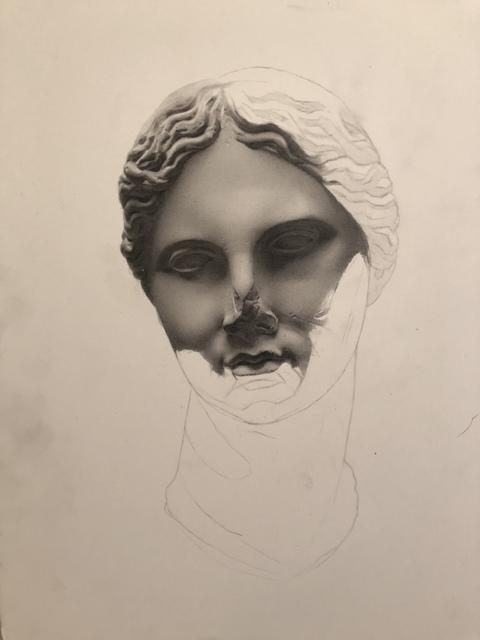 , 'Untitled( Head Cast),' 2018, Linda Matney Gallery