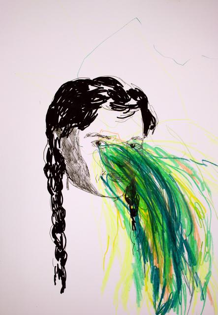 , 'Green Explosion,' 2018, Yiri Arts