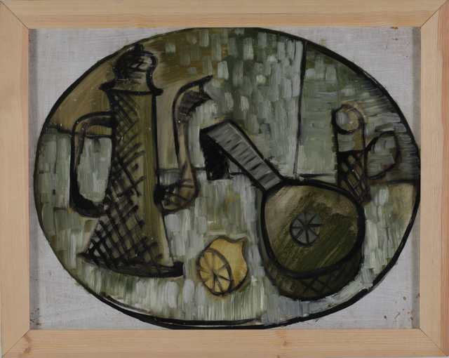 , 'Still life with a coffee pot and a mandoline.,' 1984, Open Gallery