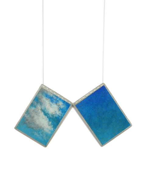 , 'Moments of Sky | Necklace Diptych,' 2017, Sienna Patti Contemporary