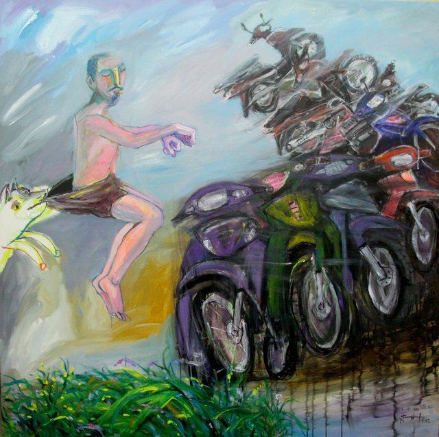 , 'Flying With Emotion,' 2012, Art Vietnam Gallery