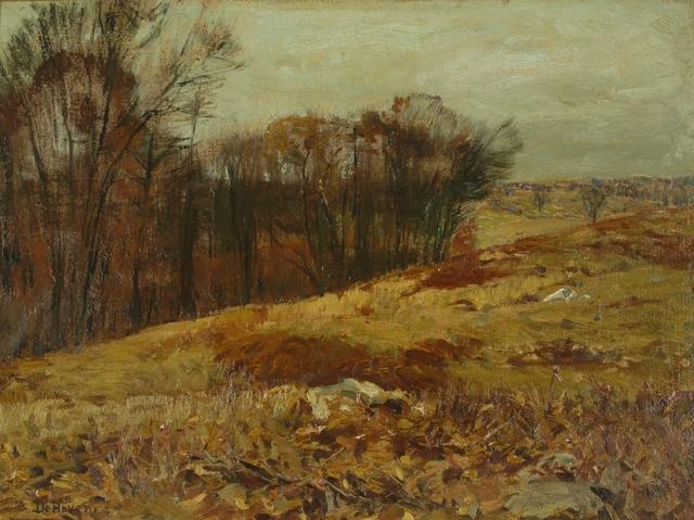 Franklin De Haven, 'Autumn Hillside', ca. 1910, Private Collection, NY
