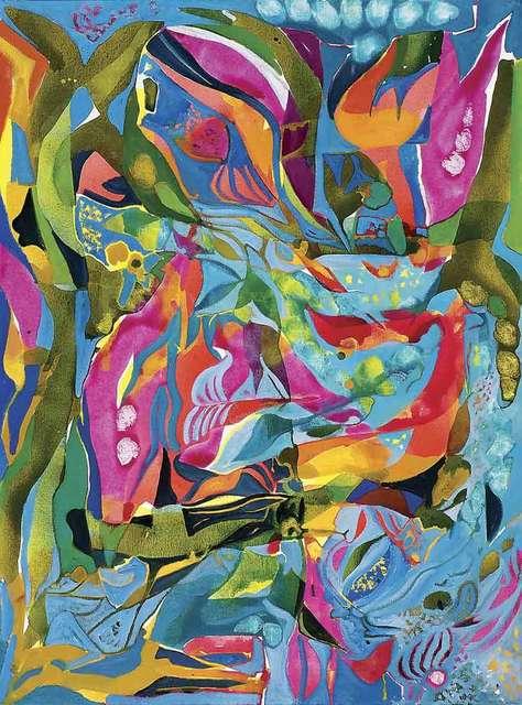 , 'Water Garden,' 2017, Catto Gallery