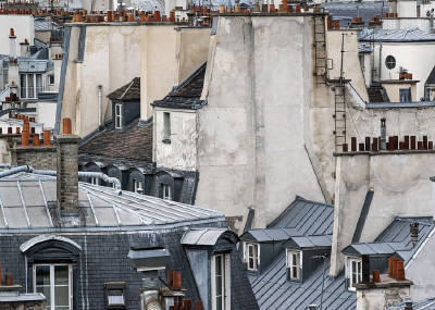 Michael Wolf, 'Paris Rooftops 12', 2014, Foster/White Gallery