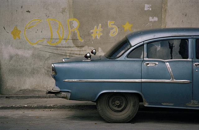 , 'Blue Chevy next to CDR #5, Havana  ,' 2005, Wall Space Gallery