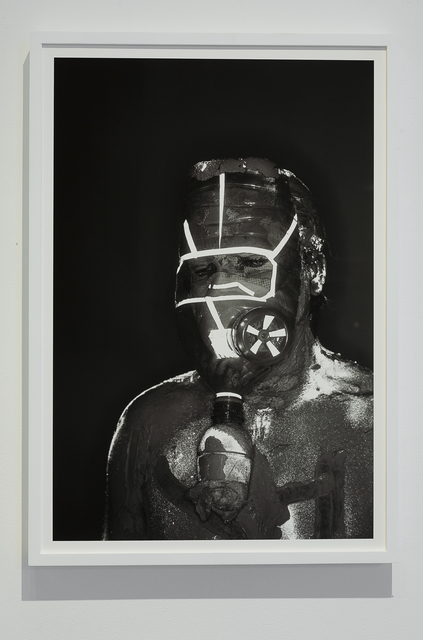, 'Mask #7,' 2018, Klowden Mann