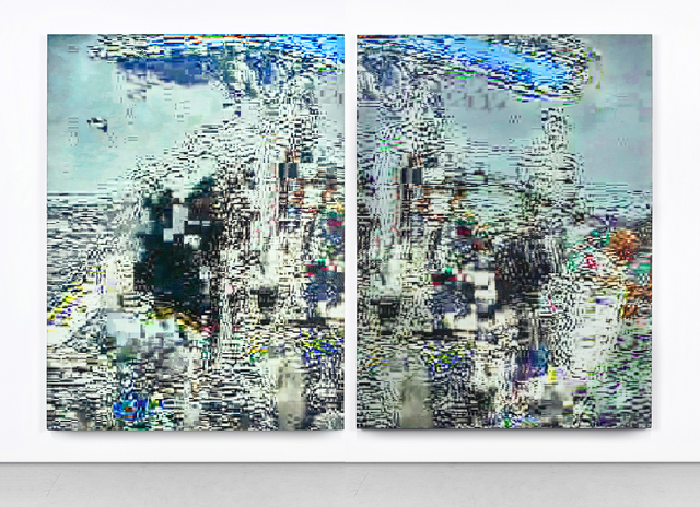 , 'Wanderer and Sea of Ice (diptych),' 2015, Circle Culture