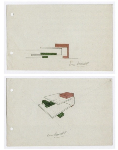 , 'Bocetos para estructuras(Volúmenes; Cuerpos y desplazamientos),' Bocetos para estructuras  (Volúmenes; Cuerpos y desplazamientos), Henrique Faria Fine Art