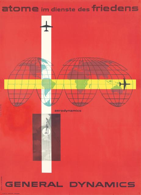 , 'General Dynamics / Aerodynamics.,' 1956, Rennert's Gallery