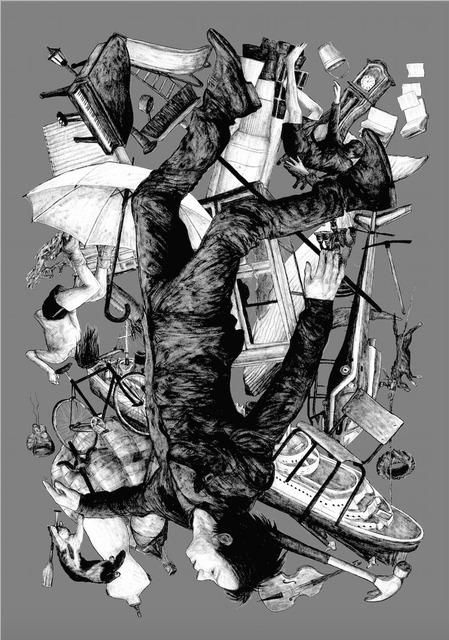 , 'La chute - silver edition,' 2015, Galerie Brugier-Rigail