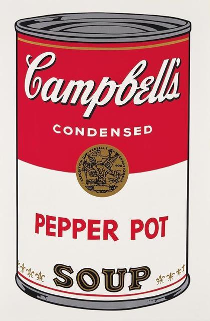 Andy Warhol, 'Pepper Pot Campbell's Soup', 1968, OSME Fine Art