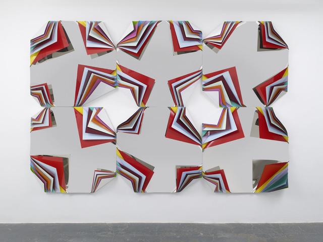 Jim Lambie, 'Metal Box (Diamond Crown Orchid)', 2013, Sadie Coles HQ