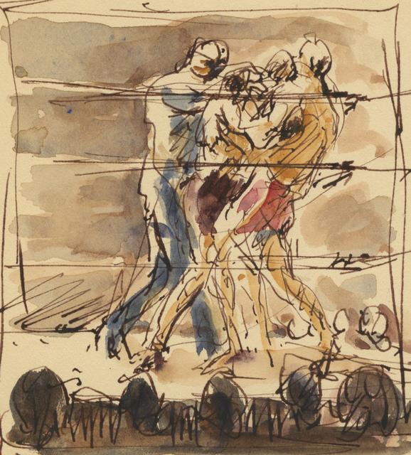 ", '""Break it up!"",' 1929, Anthony's Fine Art"