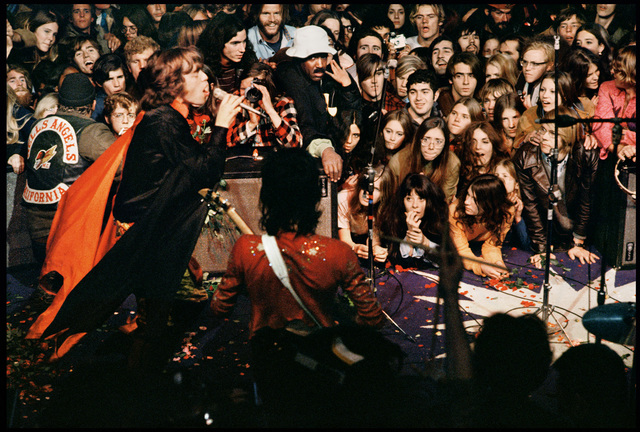 Ethan Russell, 'Mick Jagger on Stage at Altamont, December, 1969', 1969, TASCHEN