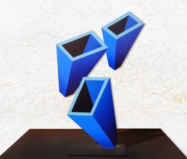 , 'Perspectiva Azul (Chica),' 2019, Aura Galerias