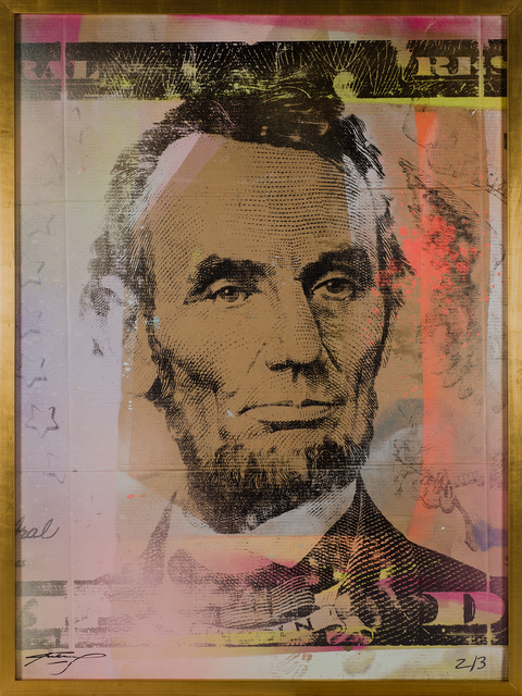 , 'Lincoln ,' 2014, DETOUR Gallery