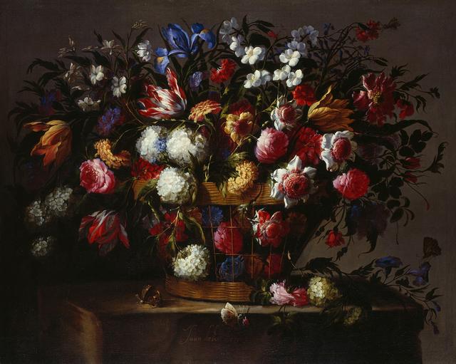 , 'Blumenstillleben,' ca. 1670, Gemäldegalerie Alte Meister