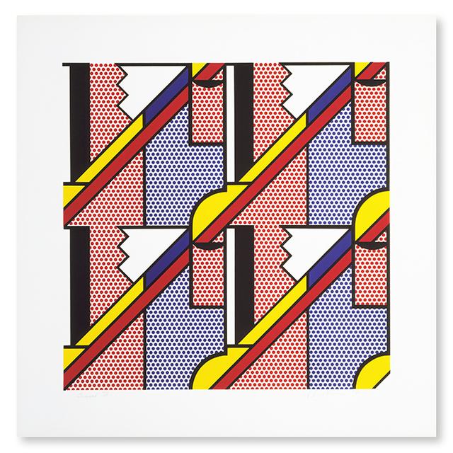 Roy Lichtenstein, 'Modern Print', 1971, Upsilon Gallery