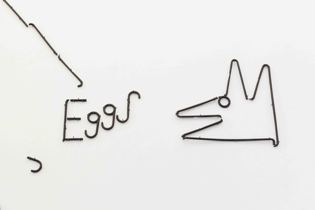 , 'Eggs/Dog,' 2016, Supportico Lopez