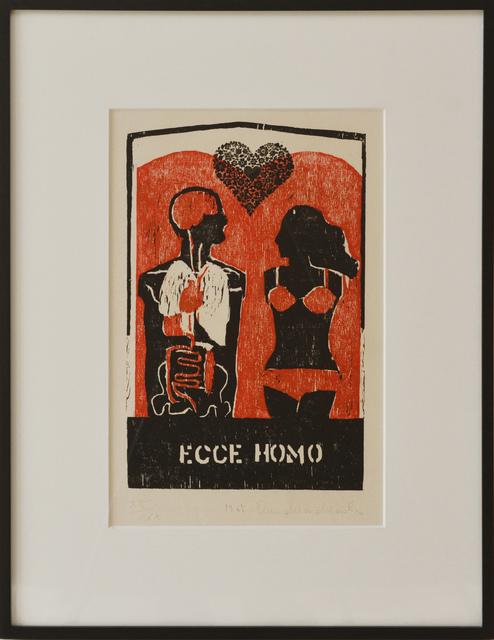 """Anna Maria Maiolino, '""""Ecce Homo""""', 1967, samba arte contemporânea"""