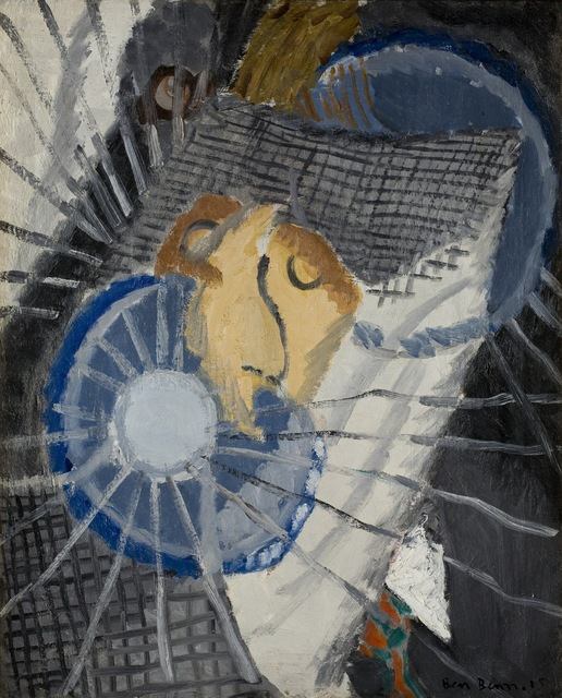 , 'Portrait of M.H. (Marsden Hartley),' 1915, Bowdoin College Museum of Art
