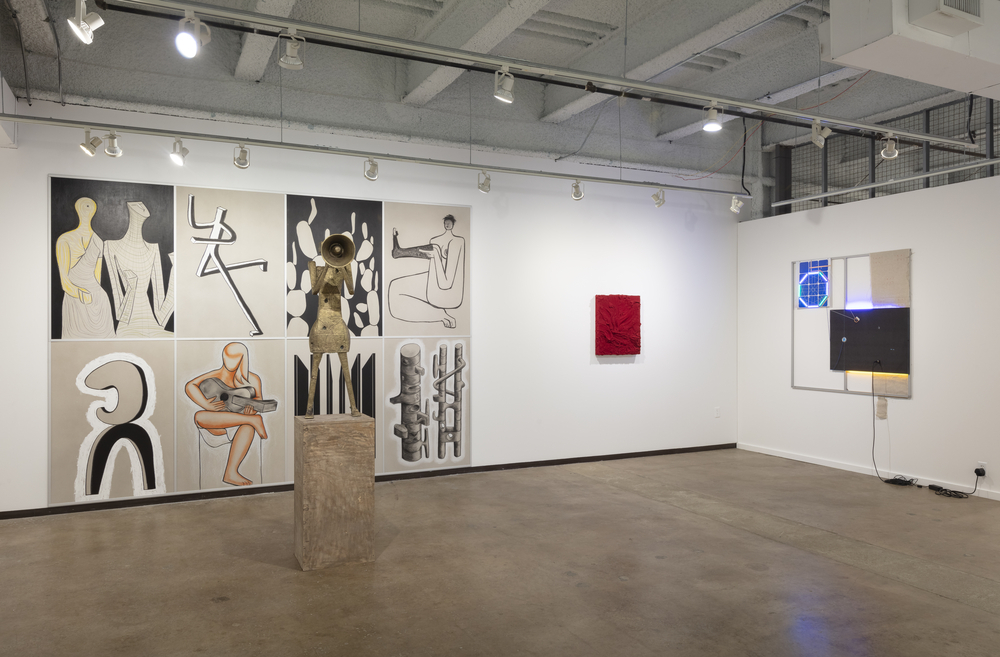 Installation view of Lisson Gallery at Dallas Art Fair, 12 - 14 April 2019 © Lisson Gallery