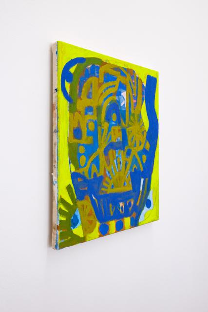 , 'Blue + Gold Gardenhead,' 2018, Mrs.
