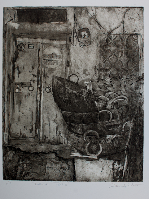 Sonia Gallart, 'Lane Pots', 2019, Open Bite Printmakers