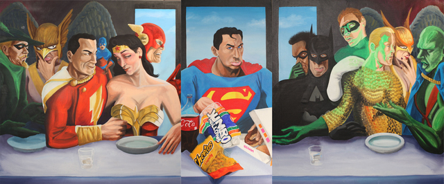 , 'Super Supper,' 2012, Fountain House Gallery
