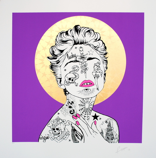 , 'Madonna - Gold Leaf Premium Edition,' 2014, Jealous Gallery