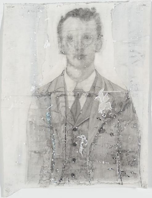, 'Man in a suit,' 2014, Galleria Anna Marra