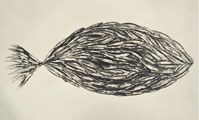 , 'Fish made of Fish,' 1939, Grob Gallery