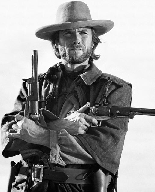 , 'Clint Eastwood, 1975,' 1975, Hilton Asmus