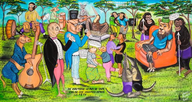 , 'L'anniversaire du Roi Simba,' 2015, Africa Bomoko