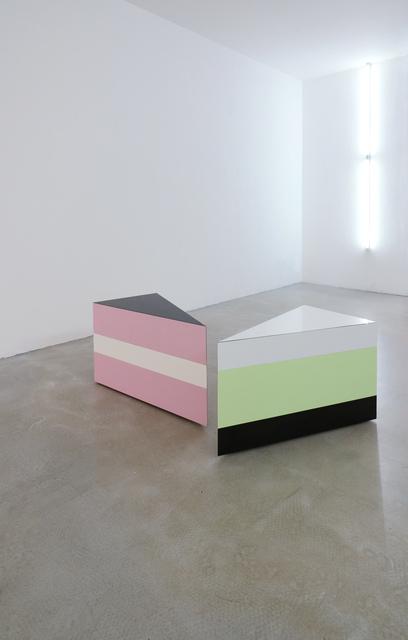 Markus Hanakam & Roswitha Schuller, 'La Tarte Waldmeister', 2013, Sculpture, Möbelobjekt, Birke-Sperrholz, Furnier, easy!upstream
