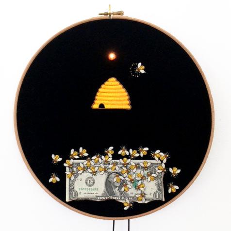 , 'Monsanto crève-coeur,' 2014, Galerie Les filles du calvaire